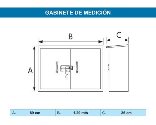 Gabinete de Medición – GM12090